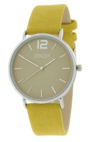 Ernest horloge Silver-Cindy-SS19 mostard