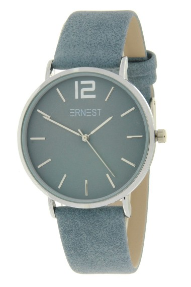Ernest horloge Silver-Cindy-SS19 jeansblauw