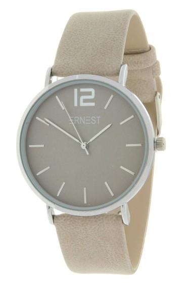 Ernest horloge Silver-Cindy-SS19 beige
