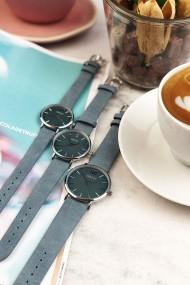 Ernest horloge Silver-Cindy-Medium SS19 jeansblauw