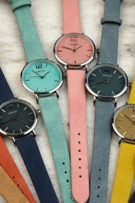 Ernest horloge Silver-Cindy-Mini SS19 zacht turquoise