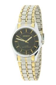"""Ernest horloge """"Bi-color Vintage"""" zwart"""