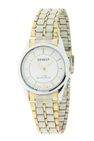 """Ernest horloge """"Bi-color Vintage"""" wit"""