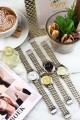 """Ernest horloge """"Bi-color Vintage"""" goud"""