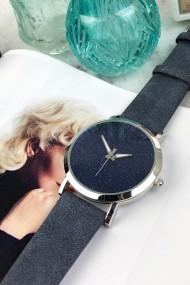 "Ernest horloge ""Nicola"" donker jeansblauw"
