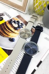 """Ernest horloge """"Denmark"""" donkerblauw"""