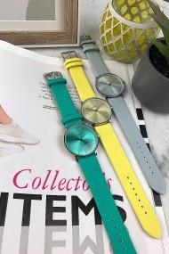 "Ernest horloge ""Denmark"" ijsblauw"