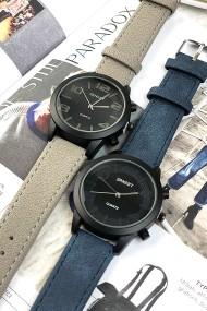 """Ernest horloge """"Stacey"""" donkerblauw"""