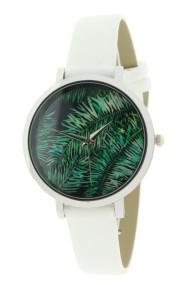 """Ernest horloge """"Coco-Leaf"""" wit"""