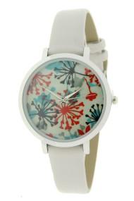 """Ernest horloge """"Coco-Flower"""" lichtgrijs"""