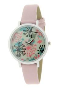 "Ernest horloge ""Coco-Flower"" lichtroze"