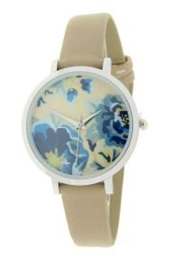 "Ernest horloge ""Coco-Flower"" beige"