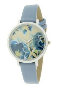 "Ernest horloge ""Coco-Flower"" jeansblauw"