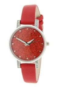 """Ernest horloge """"Livia"""" rood"""