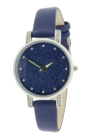 "Ernest horloge ""Livia"" blauw"