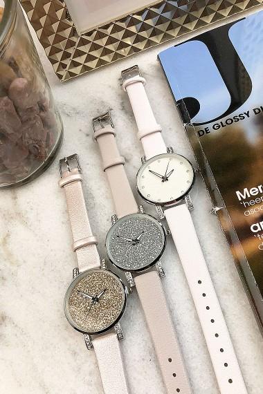 "Ernest horloge ""Livia"" metallic"