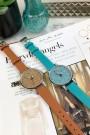 "Ernest horloge ""Livia"" turquoise"