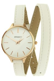 "Ernest horloge ""Rouna"" wit"