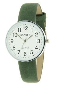 """Ernest horloge """"Brasil"""" groen"""