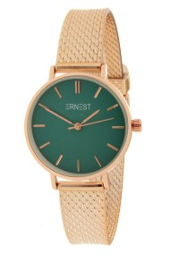 "Ernest horloge ""Cindy-Shine-Mini"" rosé-groen"