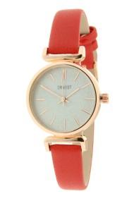 """Ernest horloge """"Rosé Sparkling!"""" rood"""
