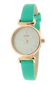 """Ernest horloge """"Rosé Sparkling!"""" turquoise"""