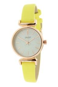 """Ernest horloge """"Rosé Sparkling!"""" geel"""