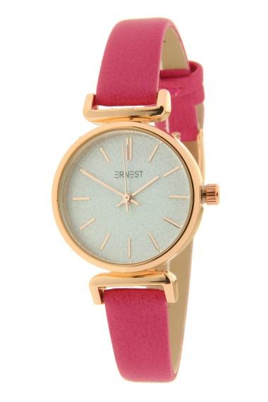 "Ernest horloge ""Rosé Sparkling!"" fuchsia"