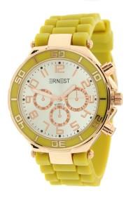"""Ernest horloge Rosé"""" mostard"""