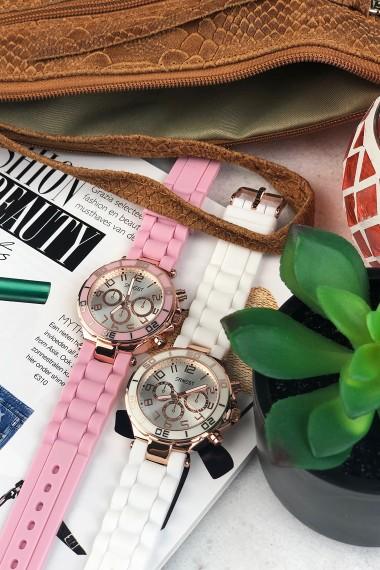 """Ernest horloge """"Rosé"""" pink"""