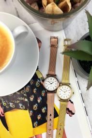 "Ernest horloge ""Mini-Thalix"" brons"