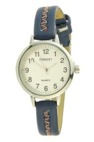 """Ernest horloge """"Stitch!"""" blauw"""