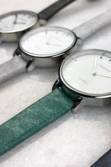 """Ernest horloge """"Mara"""" zeegroen"""
