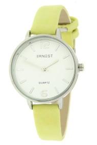 """Ernest horloge """"Mara"""" geel"""