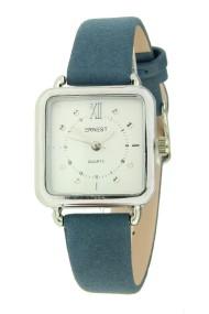"Ernest horloge ""Selin"" blauw"