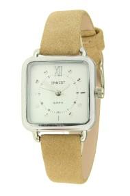 "Ernest horloge ""Selin"" beige"