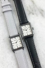 """Ernest horloge """"Ziva"""" lichtgrijs"""
