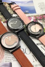 "Ernest horloge ""Hazel"" donkerblauw"