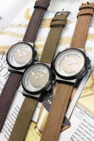 """Ernest horloge """"Hazel"""" donkerbruin"""