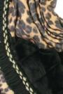 "Omslagdoek ""Triangle Leopard"" taupe"