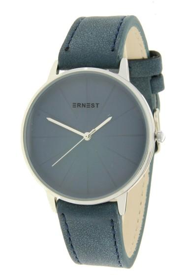 "Ernest horloge ""Valentina"" donkerblauw"