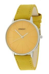 "Ernest horloge ""Valentina"" mostard"