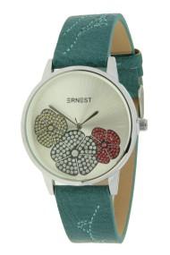 """Ernest horloge """"Aletia"""" zeegroen"""