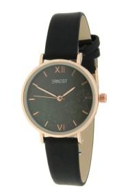 """Ernest horloge """"Melosia"""" zwart"""