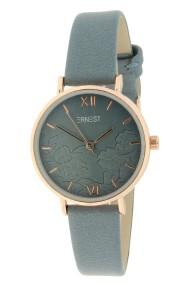"""Ernest horloge """"Melosia"""" jeansblauw"""