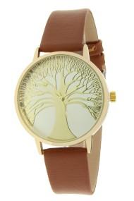 """Ernest horloge """"Tree Of Life"""" camel"""
