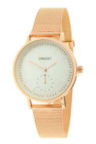 "Ernest horloge ""Elvira"" rosé-creme"