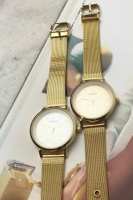 "Ernest horloge ""Elvira"" goud-goud"