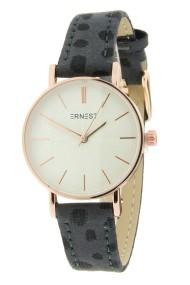 "Ernest horloge ""Mini-Misty-Cheetah""grijs"