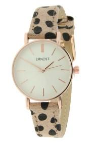 "Ernest horloge ""Mini-Misty-Cheetah"" beige"